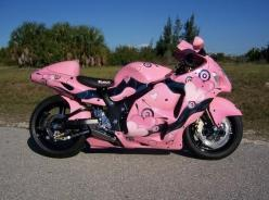 I need this in my life if anyone would like to get it as my bday present you well move up on the friends list lol: Things Pink, Pink Motorcycles, Pink Bike, Cars Motorcycles, Pink Cars, Cars Bikes, Girly Motorcycle