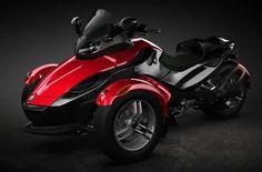 motorcycles with two front wheels | BRP Can-Am Spyder introduces an all new three wheel motorcycle