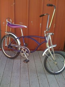 schwinn stingray via ModBasement on etsy. I wants it.: Vintage Bikes, Vintage Bicycles, Schwinn Stingrays, Banana Seat,  Tandem Bicycle, Bike S, Bicycle S