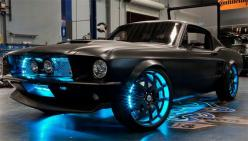 The Microsoft Mustang concept car. When Tron goes old school.: Ford Mustang, Dream Cars, Vroom Vroom, Cars Trucks