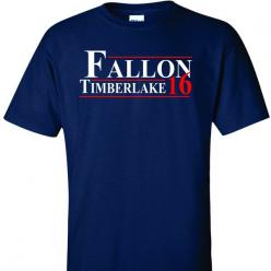 Fallon Timberlake for President 2016 on Navy Short Sleeve T Shirt: Yesssss, Motherhood Funny, U.S. Presidents, Short Funny Quotes, Short Sleeve, T Shirts