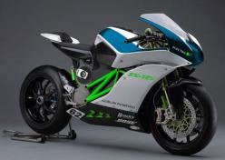 Kawasaki ZX-1EV electric motorcycle concept.: