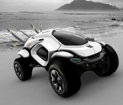 This cool concept car called the 'Hussar Dakar' could be a glimpse into the future of high-speed, off-road rally racing and is a creation of designer Klaud Wasiak.: Hussar Dakar, Auto, Cars Trucks Off Road Vehicles, Future Cars, Concept Cars, Daka