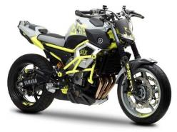 Yamaha has given us a sneak preview of its latest concept, Yamaha Moto Cage-Six concept which was inspired by the motorcycle stunt riding scene.: Yamaha Motorcycles, Concept Motorcycles, Autos Motorcycles Trains Boats, Motorbikes Dreams, Dream Garage Moto