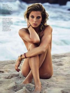 Daria Werbowy by Patrick Demarchelier for Vogue España
