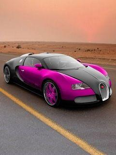 If you are going to buy a car this expensive and this fast it better have pink in it. The'll know you ad coming!