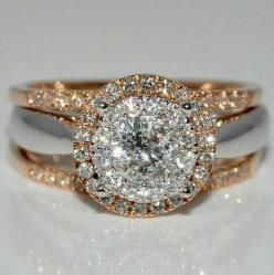Beautiful and unique engagement ring :-)