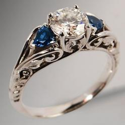"Three Stone Wedding Ring (from <a href=""http://www.popular-rings.com/picture.php?/92/category/three-stone-engagement-rings"">Popular Rings</a>)"