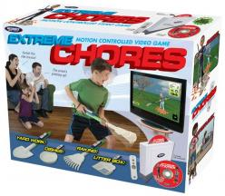 Extreme Chores races kids against the clock as they complete important household tasks like raking, doing the dishes, digging holes and emptying the litter box.  Exteme Chores promises to make chores fun!: Gift Boxes, Gift Ideas, Extreme Chores, Pranks, F