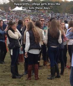 Funny Pictures Of The Day – 75 Pics: Hansolo, College Girls, Giggle, Funny, Star Wars, Han Solo, Starwars