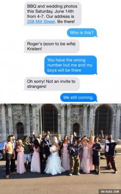"""I laugh every time. """"We still coming"""": Picture, Funny Texts, Giggle, Wedding, Text Messages, Funny Stuff, So Funny"""