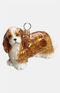 Joy to the World Collectibles 'Cavalier King Charles' Ornament available at #Nordstrom