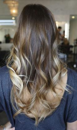 10 Picture-Perfect Hairstyles For Long Thin Hair: Hair Ideas, Hairstyles, Hair Colors, Blonde, Hair Styles, Ombre Hair, Long Hair, Beauty, Haircut