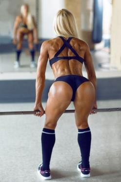 Beautiful #fitness girl. Get #fit at home with tips at http://ozhealthreviews.com/fitness-tips/how-to-workout-at-home/: Fit Women, Sexy, Post, Female, Muscle, Olga Kulinych, Fitness Girls, Photo