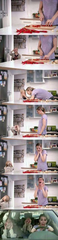 child care: Mother, Funny Pictures, Random, Funny Stuff, Humor, Things, Mom, Chili