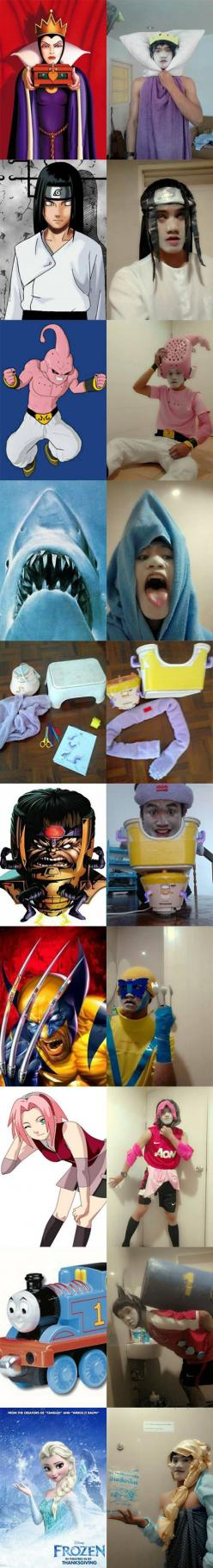 Cosplaying On a Budget // funny pictures - funny photos - funny images - funny pics - funny quotes - #lol #humor #funnypictures: Funny Pics, Photos Funny, Humor Funnypictures, Funny Pictures, Pictures Funny, Funny Images, Funny Quotes, Funny Photos