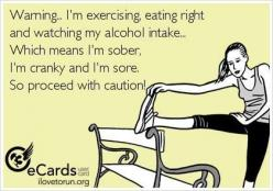 HAHA this explains my entire life right now. maybe I should make it my prof. pic on fb lol: Life Half, Bahaha Yep, Finals Week, My Life, Alcohol Intake, Exercise Humor, Funny Exercise Pics, Fitness Funny Pics, New Years