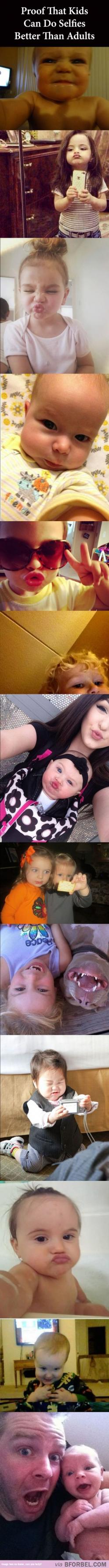 Omg these are adorable! The only time duck lips looks cute as a selfie..when ur a child! !: Little Girls, Giggle, So Funny, Selfies Better, Kids Selfies, Kid Selfies