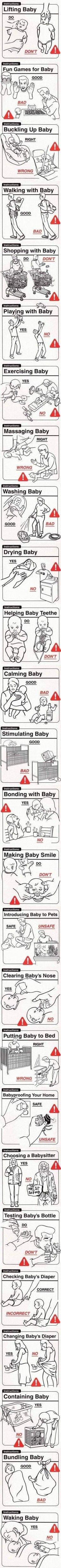 parenting do's and don'ts!!: Of, Babies, Giggle, New Parents, Don T, So Funny