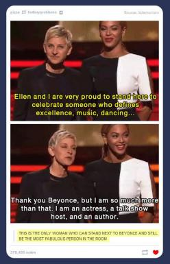 The most fabulous person in the room…: Ellen Degeneres, Giggle, Queen, Ellen Degenerous, Funny Stuff, Humor, Things, Fabulous Person