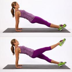 The Only Move You Need to Tone Your Entire Body....and harder (&more effective) than it looks!: Variation Exercises, Body Workout, Planks Exercise, Work Out, Plank Variations, Entire Body