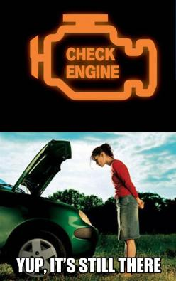 Whenever There's a Problem With My Car  // funny pictures - funny photos - funny images - funny pics - funny quotes - #lol #humor #funnypictures: Car, Giggle, Funny Pictures, Check Engine, Funny Stuff, Funnies, Checkengine
