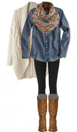 27 Casual and Cozy Combinations for Fall: Style, Dream Closet, Denim Shirts, Winter Outfit, Fall Outfits, Fall Fashion, Fall Winter