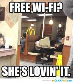 32 Funny Pictures with Captions - Clicky Pix: Wi Fi, Funny Pictures, Funny Stuff, Funnies, Humor, Free Wifi