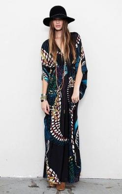 A little Boho for the Fall: Boho Chic, Hippie Chic, Bohemian Style, Boho Style, Bohochic, Kaftan