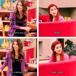 i'm not a huge fan of this show..but i have seen it a few times, and i love Cat!: Cat Valentine, Cats, Arianagrande, Victorious, Ariana Grande, Funny