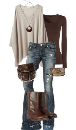 I love this outfit!: Sweater, Fall Style, Poncho, Fall Outfits, Fall Fashion, Brown Outfit, Fall Winter