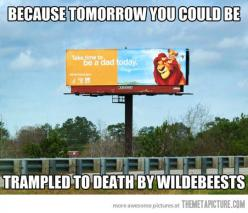 It's so wrong...but a little funny: Lionking, Funny Stuff, Lion King, Funnies, Disney, So Sad