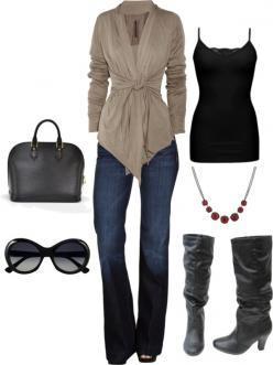 Love the boots and the sweater!: Design School, Fashion, Style, Dream Closet, Cute Outfits, Fall Outfit, Fall Winter