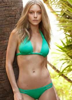 Model and actress Elle Evans in swimwear by Vitamin A: Bikini Girls, Actress Elle, Vitamin A, Elle Evan