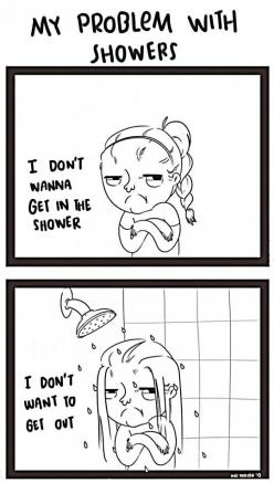 My problem with showers…if only it didn't take an hour to dry and style all of this hair.: Showers, Giggle, Truth, My Life, Funny Stuff, Funny Quotes, So True