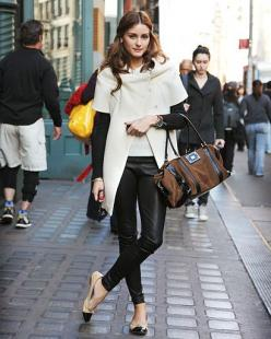 Olivia Palermo: Oliviapalermo, Fashion, Street Style, Outfit, Styles, Olivia Palermo, Leather Pants, Fall Winter