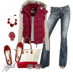 Outfits for women | Outfits for Women by Stylish Eve Catalog Pink Winter 2013 Outfits ...: Stylish Eve, Style, Clothes, Christmas Outfit, Winter Outfits, Winter Fashion, Fall Winter, Christmas Gift, Outfits For Women