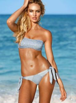 Shimmer Bandeau Top - Very Sexy® - Victoria's Secret. I usually don't like these but this one looks like it'll stay put: Candice Swanepoel, Swimsuits, Victoria Secret, Candiceswanepoel, Beach, Bikini, Victoria S Secret