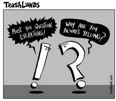 Some Punctuation Humor