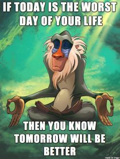 taking a deep breath after today and reminding myself of this. after all, ill go to sleep and wake up with another chance tomorrow: Life, Inspiration, Quotes, Truth, Wisdom, True, Thought, Lion King, Disney
