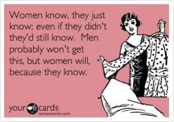 Thanks Brittleigh! Lol.....@ Lauren Meyer lol I'm pretty sure I've heard you say these exact words.: Sayings, Quotes, Bc Women, Women S Logic, Funny, Ecards, Women Logic, Women S Intuition