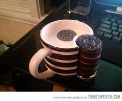 This mug will probably change my life…: Cup, Ideas, Gift, Stuff, Food, My Life, Oreo, Things, Mugs
