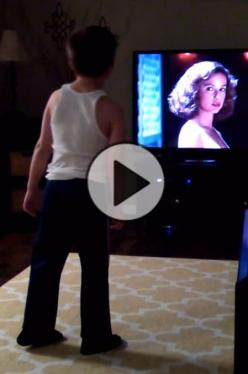 """You're Not Going To Believe What This Kid Does When """"Dirty Dancing"""" Comes On: Funny Stuff For Kids, Funny Kids Videos Youtube, Dance Quotes For Kids, Funny Videos For Kids, Funny Kids Quotes, Funny Quotes For Kids, Cute Kids Funny, Funny Video"""