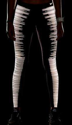 glow in the dark leggings from nike! My goal is to get muscular legs by the end of the spring. If I do, I will buy myself these leggings.: Glow In The Dark Fashion, Nike Glow In The Dark Leggings, Nike Flash Legging, Nike Reflective Legging, Glow In The D