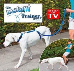 Instant Trainer Dog Leash Trains Dogs 30 Lbs Stop Pulling As Seen On Tv Dogwalker Leash