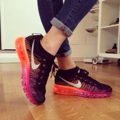 Nike Flyknit Air Max Running Shoes   Spotted on @Chiara Ferragni