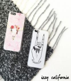 Protect your phone this Fall with our trendy, affordable cases! Chic, colorful prints to fashionable grunge designs, we have covers in every style! #izzycalifornia