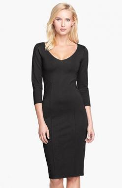 FELICITY & COCO Midi Sheath Dress (Nordstrom Exclusive) | Nordstrom: Midi Sheath, Black Dresses, Clothes, Nordstrom Exclusive, Felicity Coco, Coco Midi, Sheath Dresses