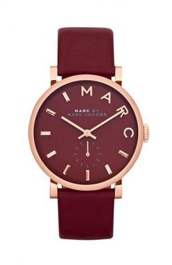 MARC BY MARC JACOBS 'Baker' Leather Strap Watch, 37mm | Nordstrom: Jacobs Baker, Style, Marc Jacobs Watch, Marcjacobs, Leather Watch, Accessories, Watches