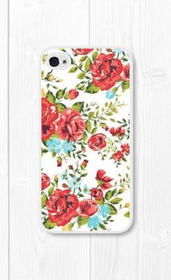 Red Floral iPhone Case Floral iPhone 4 Case Floral...if i ever upgrade i want this: Iphone Cases, Tumblr Iphone Case, Iphone 4S, Red Floral, Iphone 4 Cases, Floral Phone Case, Floral Iphone